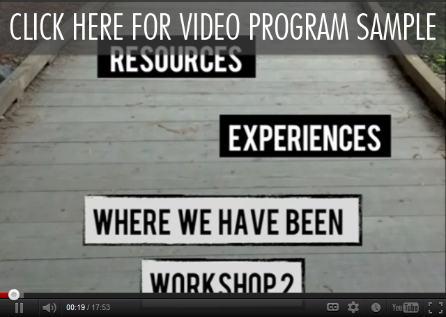Click Here For A Free Video Program Sample | Workshop 2