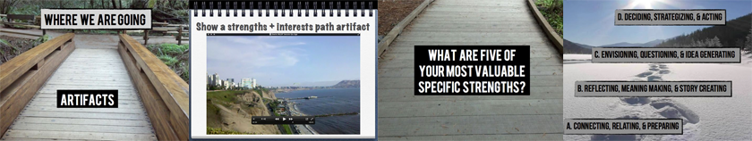 Create Your Path Workshop 4: Artifacts, Specific Strengths-Interests-Values