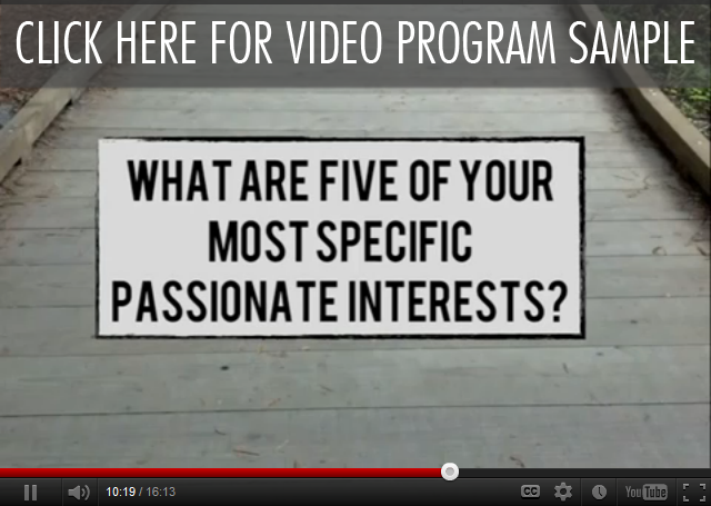 Click Here For Free Video Program Sample | Workshop 4